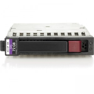 """512545-B21 HP Hot-Plug 72GB 2.5"""" SFF Dual-Port SAS Hard Drive at Genisys"""