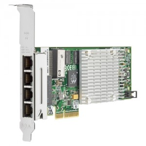 538696-B21 HP NC375T PCI Express Quad Port Gigabit Server Adapter at Genisys
