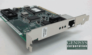HP B5509BA 100Base-TX RJ-45 LAN host adapter board at Genisys