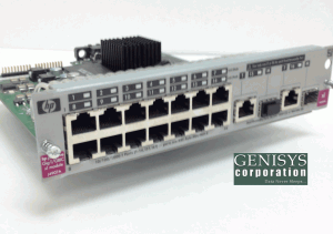 HP J4097A ProCurve 408 Ethernet Switch at Genisys