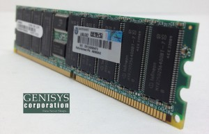 HP AB395A 1GB DDR SDRAM Memory Module at Genisys