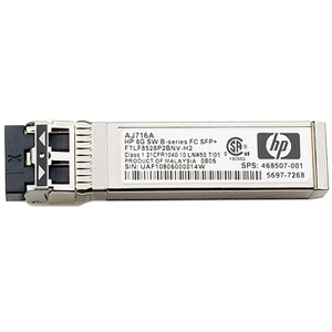 AJ717A HP 8Gb Long Wave B-series 10km Fibre Channel 1 Pack SFP+ Transceiver