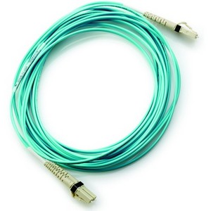 AJ833A  HP LC to LC Multi-mode OM3 2-Fiber 0.5m 1-Pack Fiber Optic Cable at Genisys