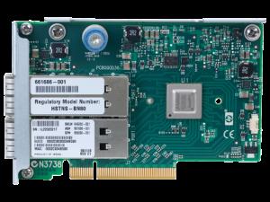 649282-B21 HP InfiniBand FDR/EN 10/40Gb  Dual Port 544FLR-QSFP Adapter