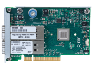 649283-B21 HP InfiniBand QDR/EN 10Gb Dual Port 544FLR-QSFP Adapter
