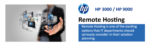 HP Server Remote Hosting