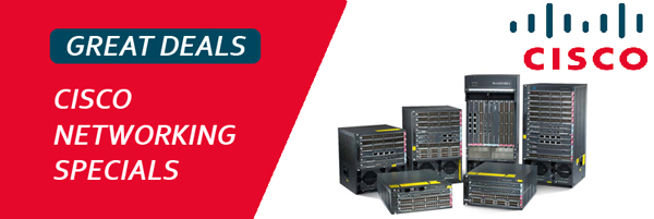 Cisco Networking Specials at Genisys